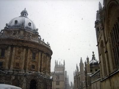 Snowy University Square