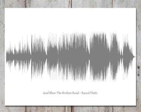 Wedding Song Art, Soundwave, First Dance, Gift for Couple