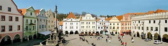 Český Krumlov, main square