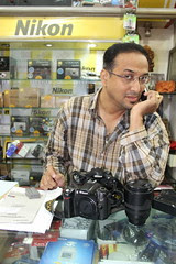 Shyam Bhai Reliable Camera Stores  Tried Very Hard To Switch Me Over To Nikon by firoze shakir photographerno1