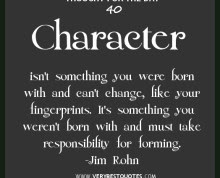 Quotes About Integrity And Character Quotesgram 2 Quotes
