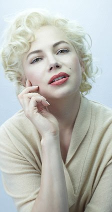 Actress Michelle Williams stars as Marilyn Monroe in a new film