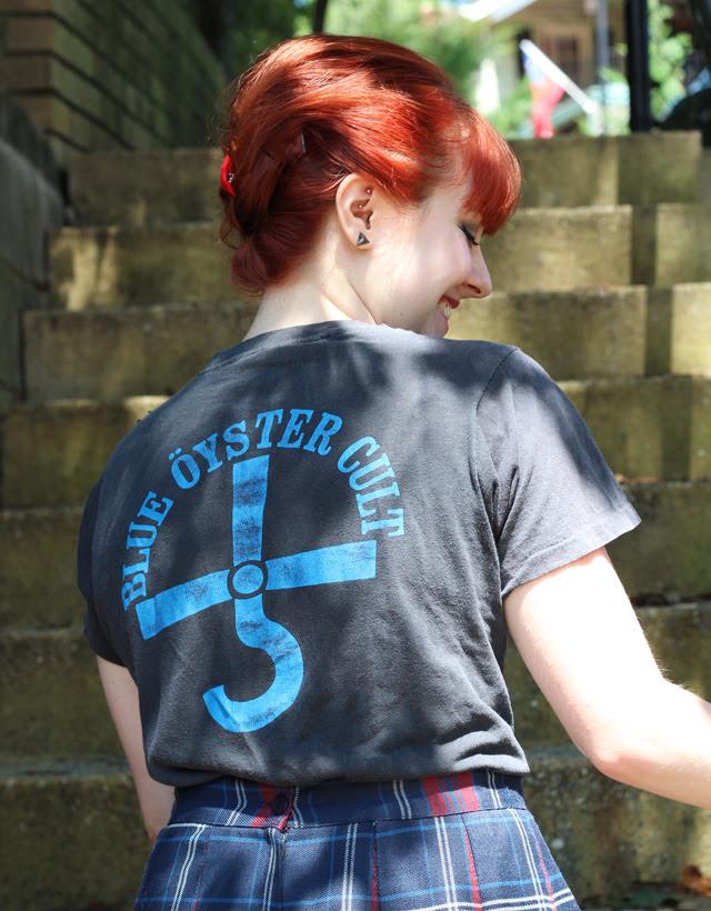 70's Blue Oyster Cult Shirt Back