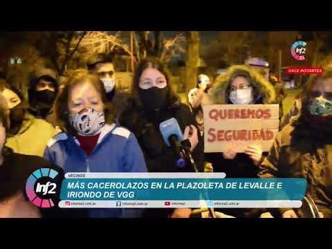 Más Cacerolazo: Vecinos de Levalle e Iriondo ya no pueden andar por la calle del barrio