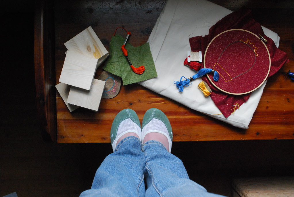 crafty supply bench monday