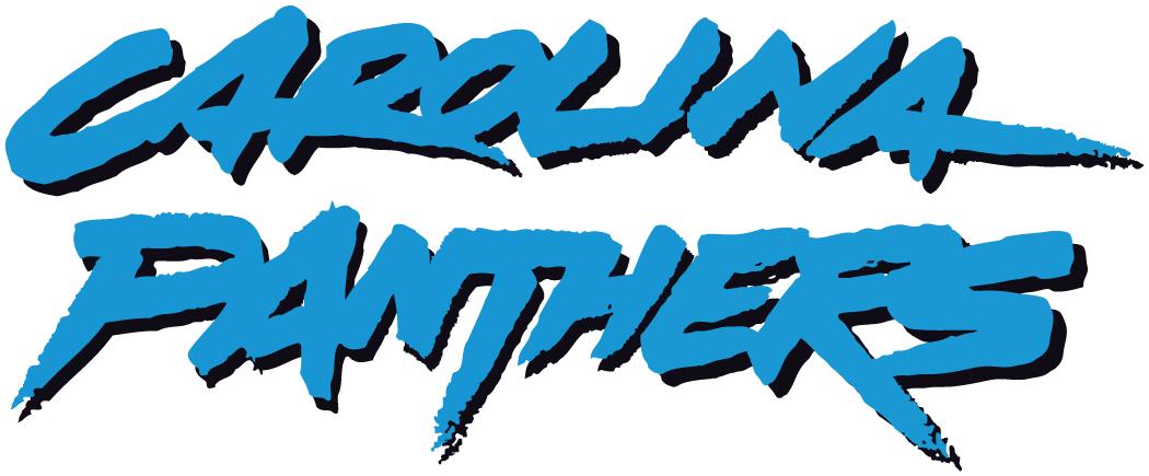 Carolina Panthers Wordmark Logo National Football League Nfl