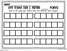 Five Frame Fun- I have ___. I need ____ more to make 5. | Math ...