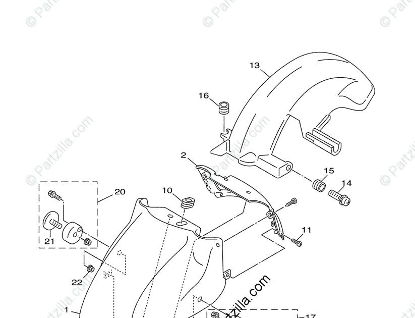 28 Yamaha Vino 125 Parts Diagram