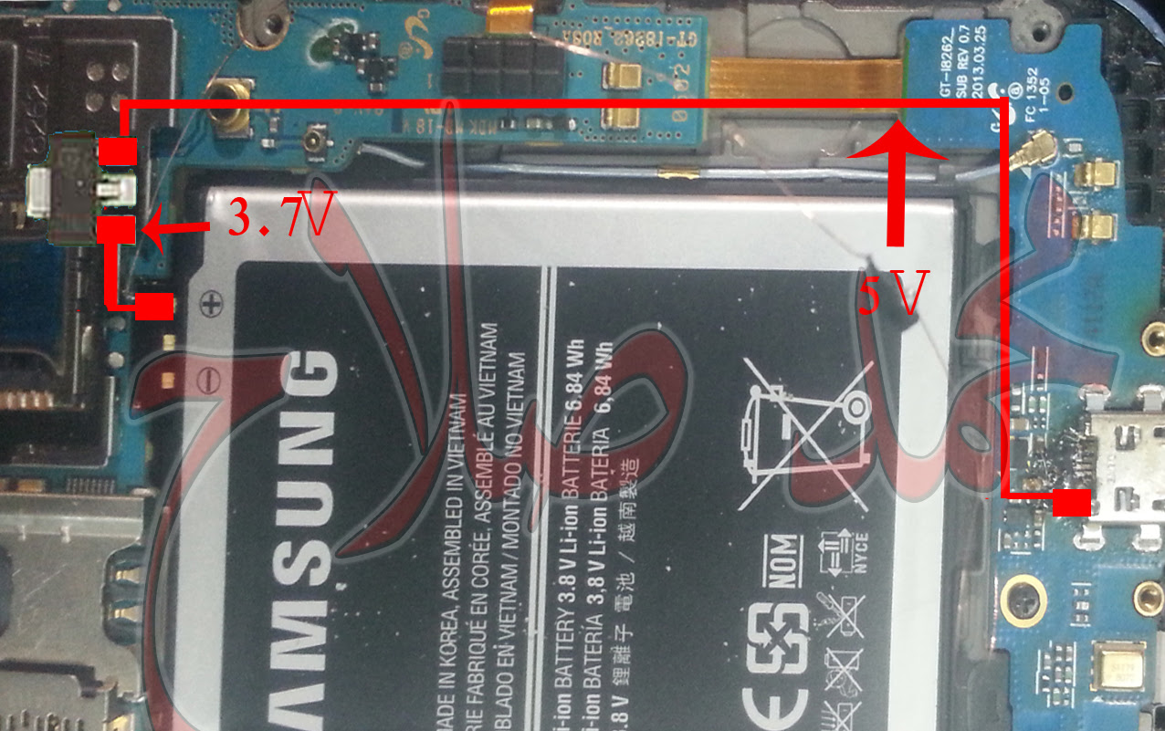Samsung Charging Solution When IC is Not Working (12)
