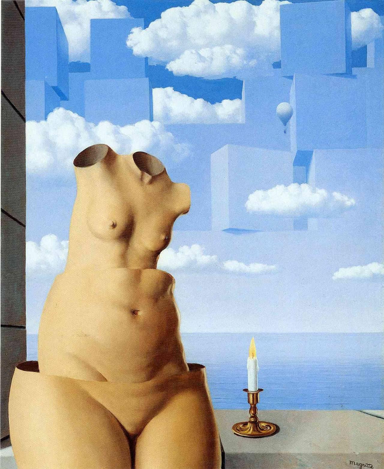 Delusions of grandeur, 1948 Rene Magritte