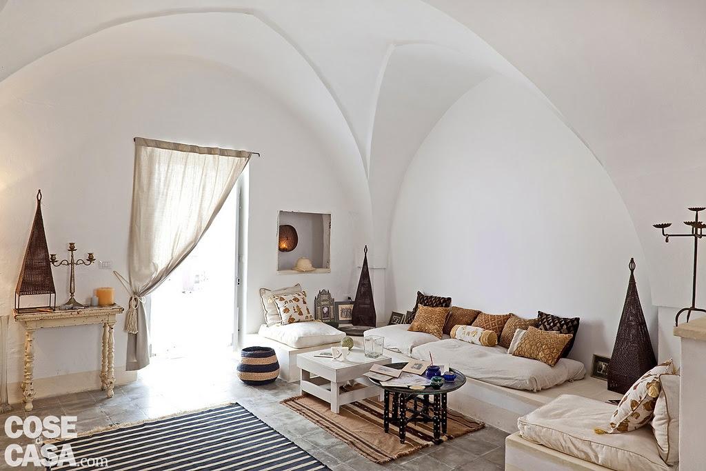 A rustic house in puglia italy for Case con facciate in pietra