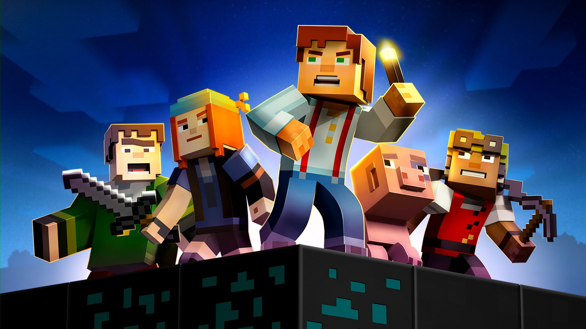 Minecraft Story Mode: Season One coming to Nintendo Switch screenshot