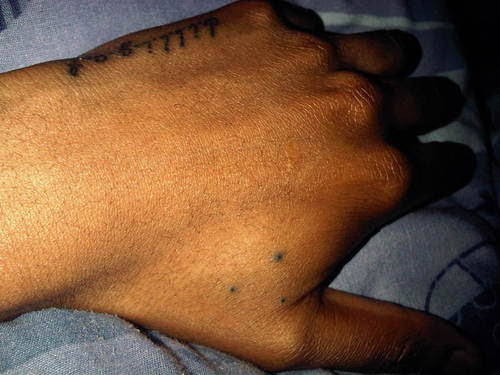 Three Dot Tattoos In Triangular Pattern Meanings Tattoos Win