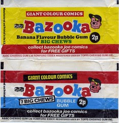 Bazooka wrappers