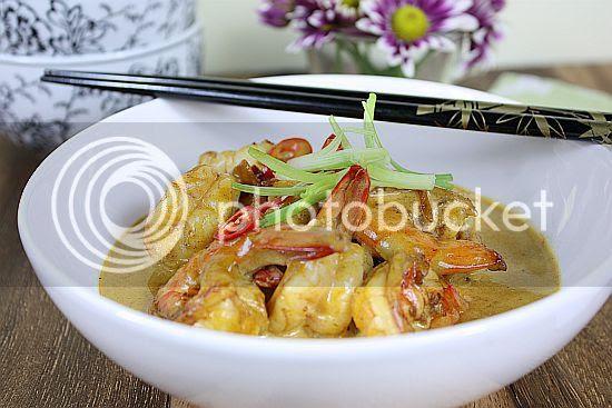 Curry prawn 1