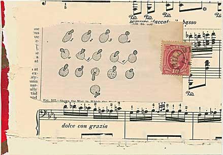 Musical postcard