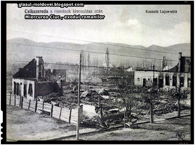 1916, Exodul romanilor din Miercurea Ciuc