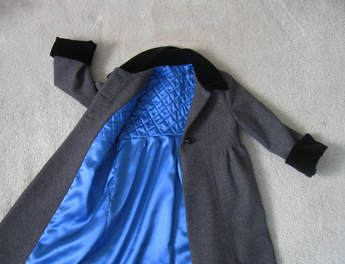 Coat lining view