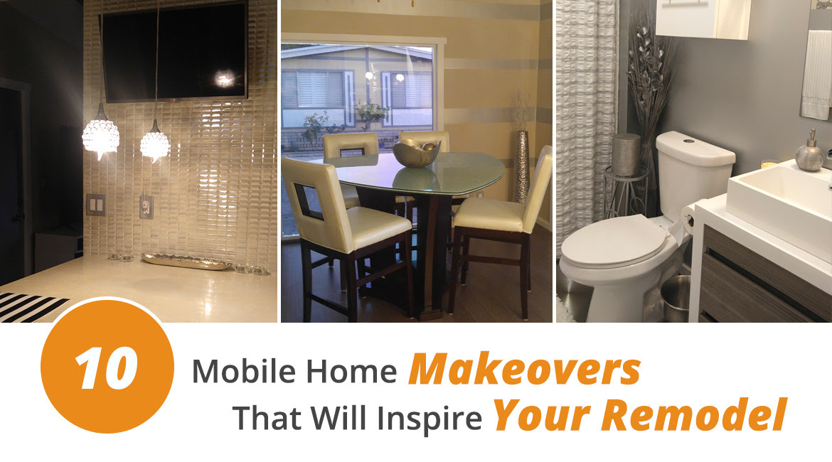 10 Mobile Home Makeovers That Will Inspire Your Remodel Pictures Mobile Home Parts Store Latest News