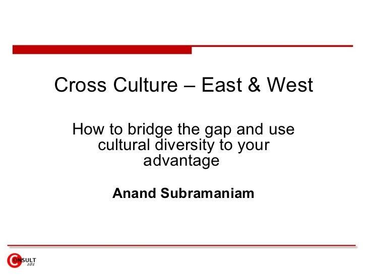 Cross Culture – East  West