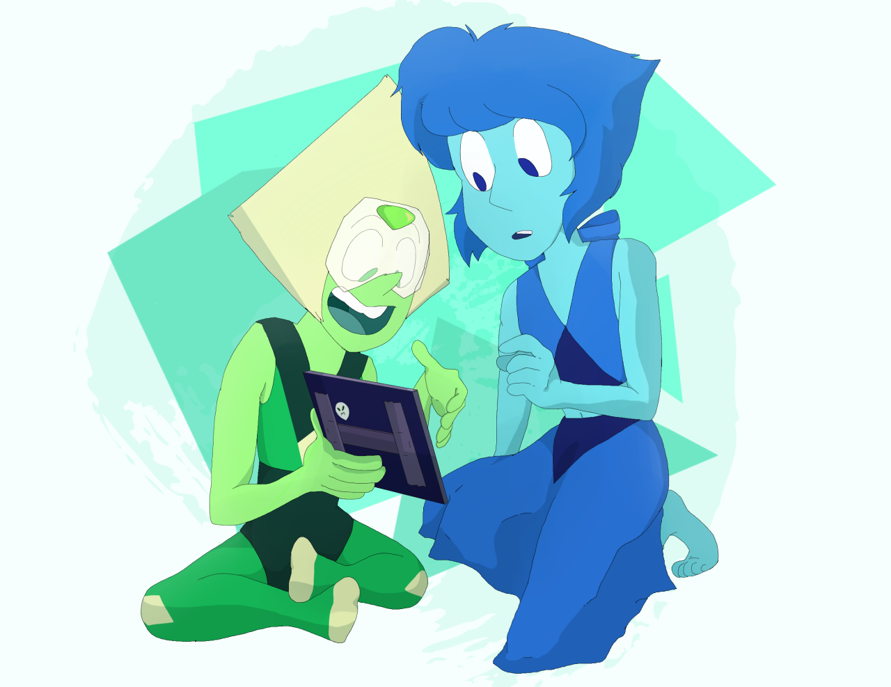 """Lapidot Week Day 2: Firsts (First Picture Together!) "" Their first one was a little outta focus but they loved it anyway. @lapidot-week​"