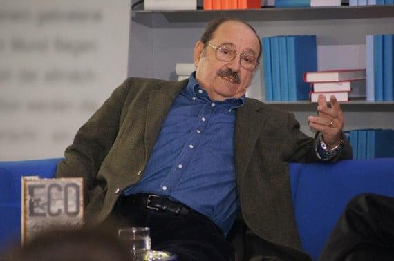 Umberto Eco in 2011 - Photo credit: Das Blaue Sofa / Club Bertelsmann.