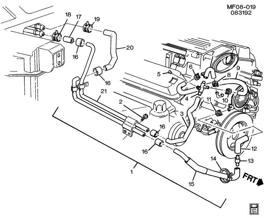 97 Camaro R Engine Diagram