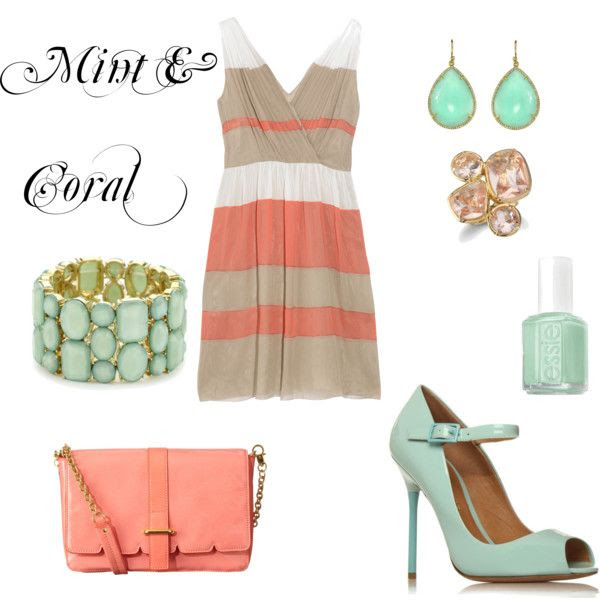 Summery sorbet colors!