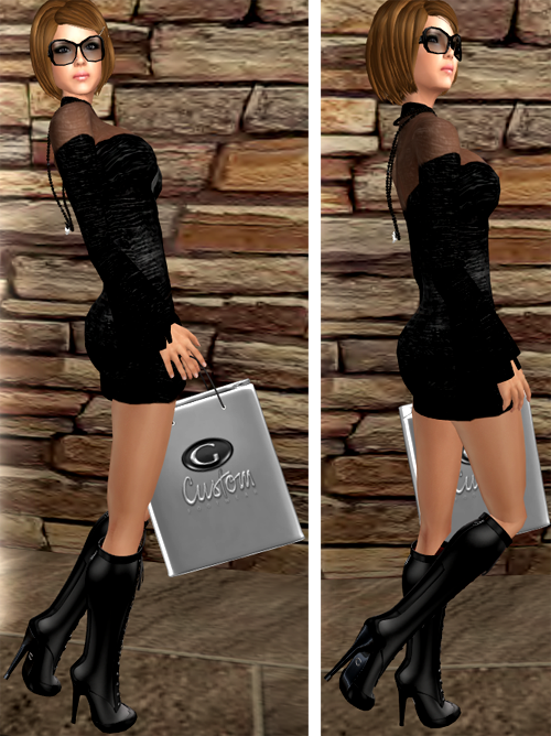 NEW! [Gos] BURLESQUE Booties