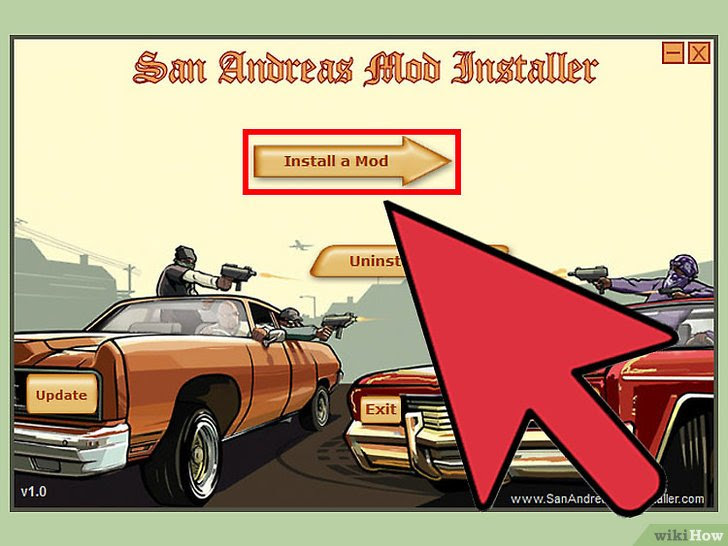 Car Mods In Grand Theft Auto San Andreas Installieren