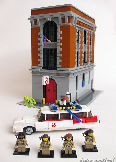 Ghostbusters Firehouse Design Model on