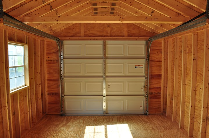 Shed Plans With Roll Up Door