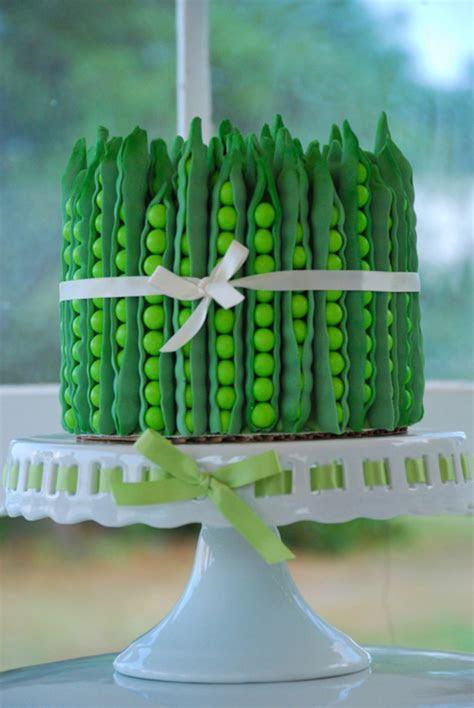 Green Summer Dessert Table Pea Pod   CakeCentral.com
