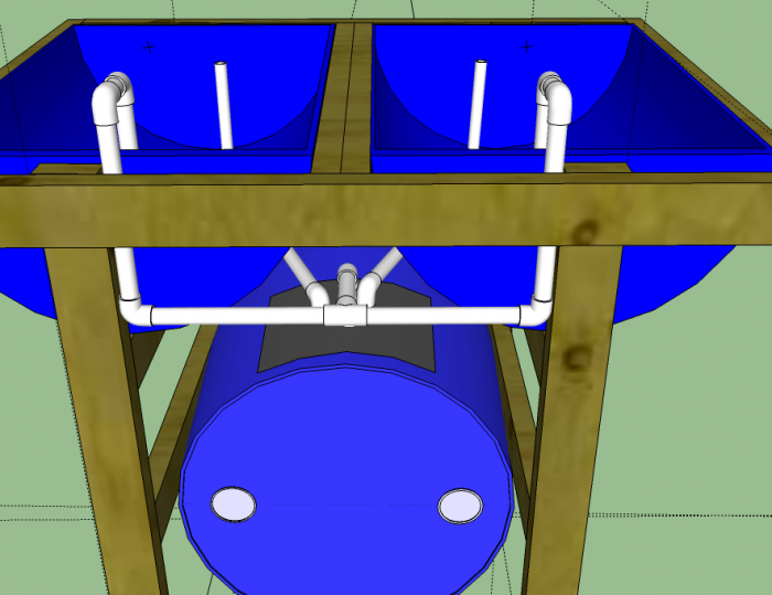 55 Gallon Drum Aquaponics