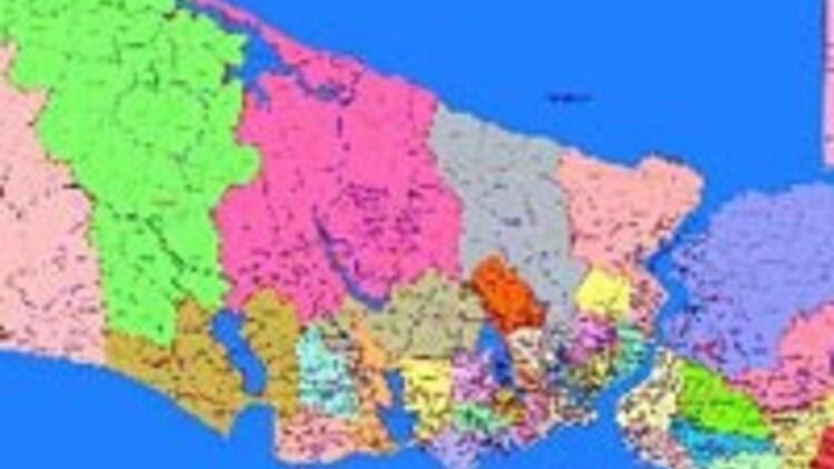 Istanbulun Yeni Ilçelerinin Haritası çizildi Son Dakika Haberler