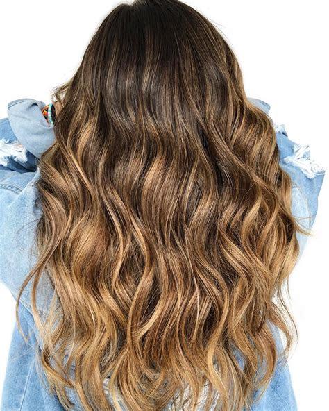 ideas  honey balayage highlights  brown  black hair