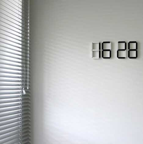 An Iconic Redesign: Stylish Wireless Domino Wall Clock | Gadgets ...