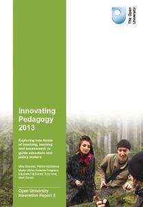 Innovating Pedagogy report #2
