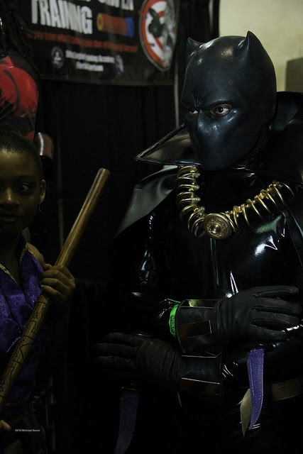 Black Panther - MegaCon 2013 by insidethemagic, via Flickr