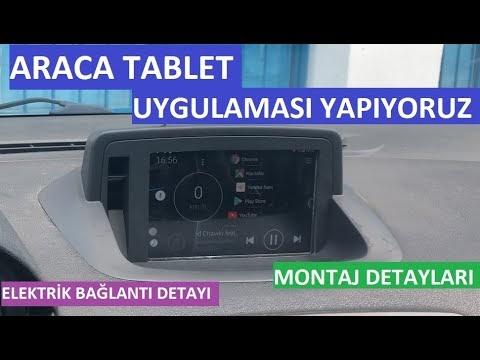 Araca Tablet Montajı Nasıl Yapılır |  Araca Tablet Uygulaması Yapımı | Fluence & Megane