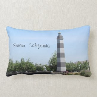 Pillow - Suisun Harbor Lighthouse