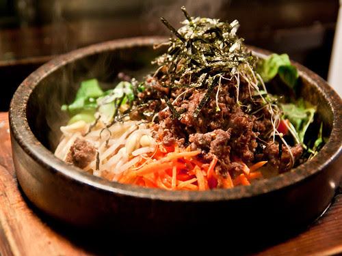 돌솥 비빔밥 (dolsot bibimbap)
