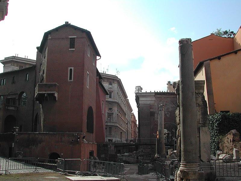 File:22 Portico di Ottavia dal Teatro di Marcello.JPG