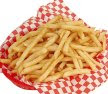 Salty french fries.