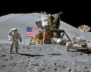 Přistání Apollo 15 v roce 1971