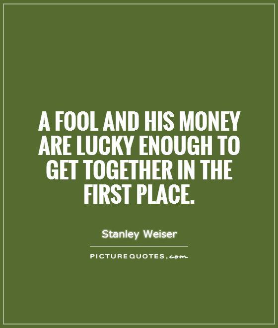 Fool Money Quote