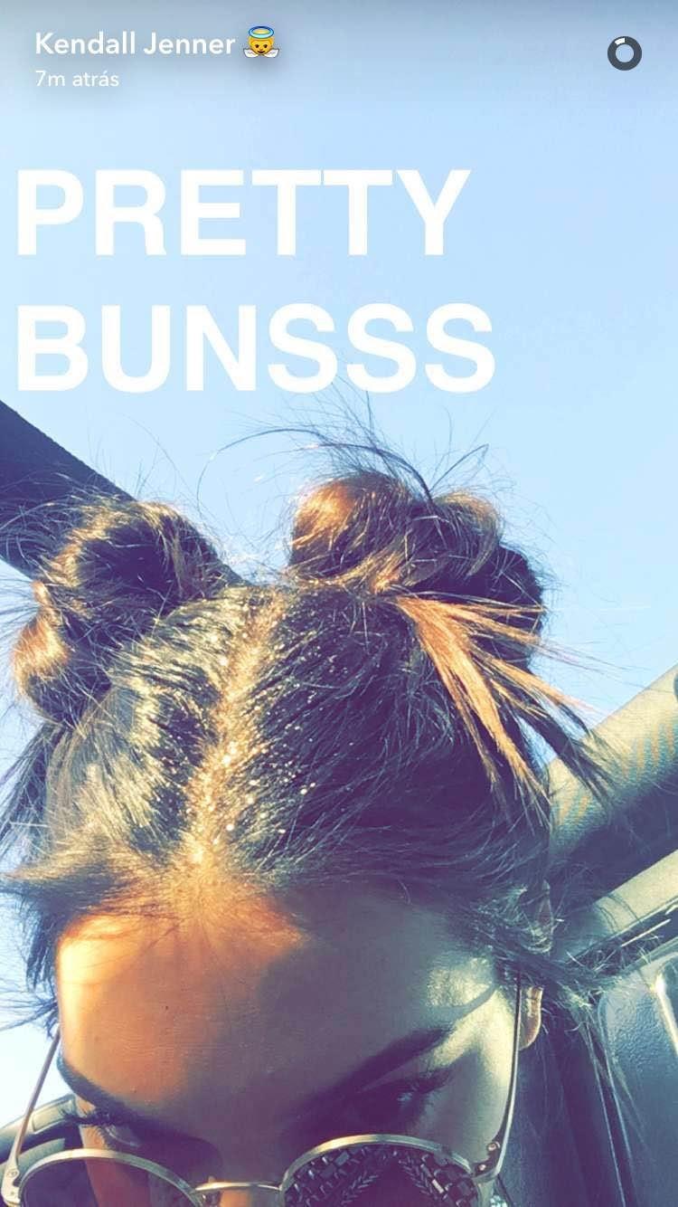 Kendall Jenner (Foto: Snapchat/Reprodução)