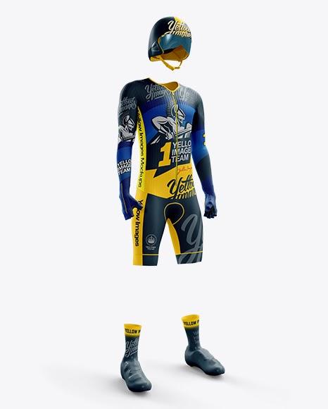 Download Mens Full Cycling Time-Trial Kit (Hero Shot) Jersey Mockup ...