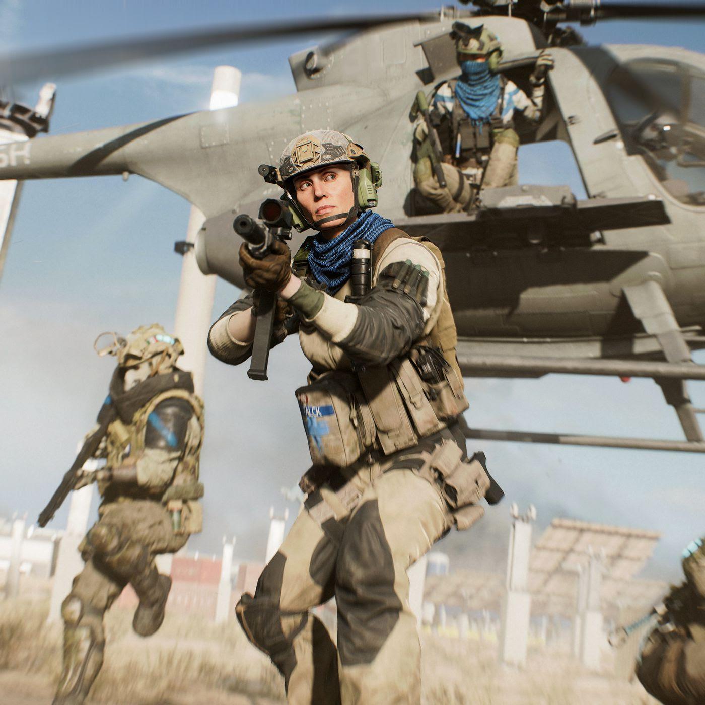 Battlefield 2042 new Hazard Zone mode revealed in first trailer