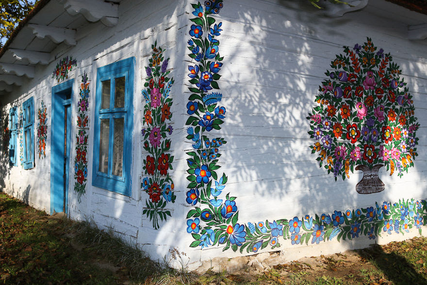 Zalipie flores pintadas 19